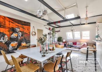 Appartement 5 pièces de 115 m² (au sol) + cave à Paris 9ème