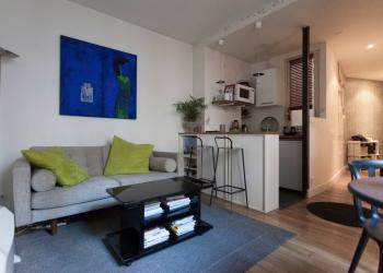 Appartement Type 2 de 33 m² + cave à Paris