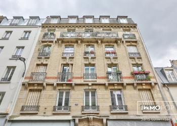 Appartement Type 2 de 26 m² + cave à Paris 18  ème