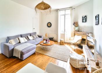 Appartement T3 bis Meublé avec balcons et sans parties communes.