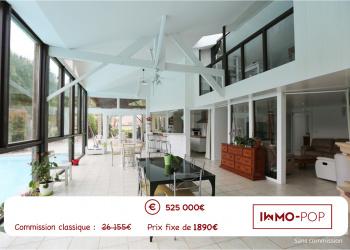 [SOUS COMPROMIS] St MEDARD D'EYRAN Maison Positive de 310 m2 sur terrain de 1700 m2