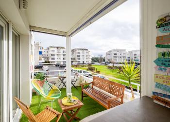 Appartement type 2 de 44 m² + terrasse à Bordeaux Caudéran