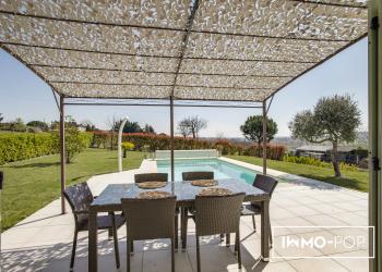 Maison Type 5 de 110 m² + piscine à Belberaud