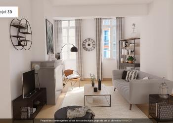 Appartement Type 3 de 83 m² au centre de Perpignan