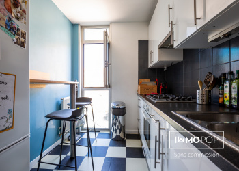 Appartement Type 2 de 48 m² à Bordeaux