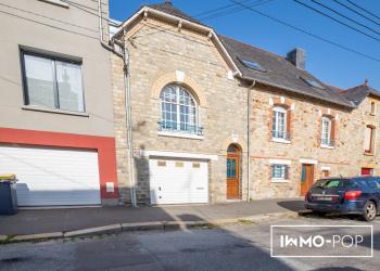 Maison de 180m² + jardin de 435² proche Rennes centre.