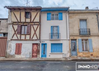 Maison de ville de 95 m² à Rénover | Ste-Foy-la-Grande