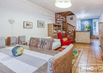 Maison type 5 de 128 m² + garage et jardin à Ste-Foy-la-Grande