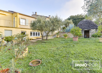 Maison plain pied type 4 de 210 m² + garage à Villes-sur-Auzon