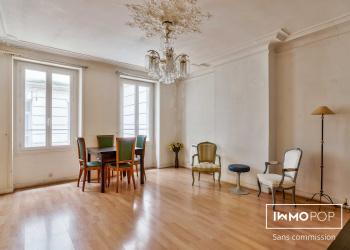 Appartement Type 3 de 55 m² + cave à Paris 17ème