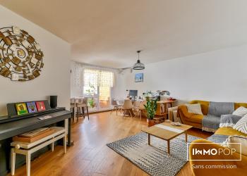 Appartement Type 4 de 90 m²+ parking + cave à Port/Mariane - Montpellier