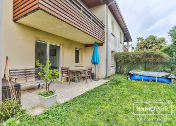 AppT Type 3 RDC de 66 m² avec jardin + 2 parkings à MERIGNAC