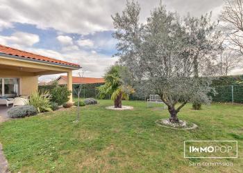 Maison plain pied Type 6 de 164 m² + piscine + garage à Brignais