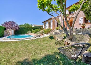 Maison Type 5 de 160 m² + piscine + garage à Belberaud