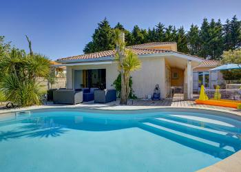 Maison plain pied Type 6 de 143 m² + piscine à la Teste-de-Buch