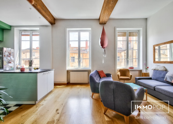Appartement Type 4 de 116 m² à Lyon