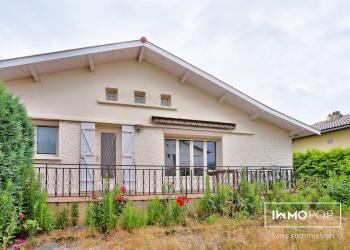 Maison plain pied Type 5 de 110 m² + garage à St-Médard-en-Jalles