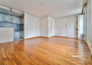 Appartement  type 2 de 50m² + cave à Paris 10