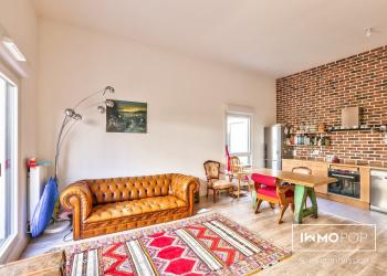 Appartement Duplex Type 3 de 66 m² à Saint-Ouen