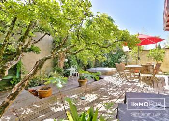 Charmante Maison de 120 m² avec Jardin, Jacuzzi, Cave et Garage à Bordeaux Caudéran