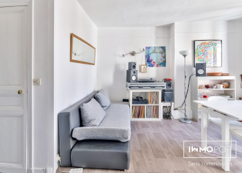 Appartement Type 2 de 33 m² + cave à Paris 13 ème