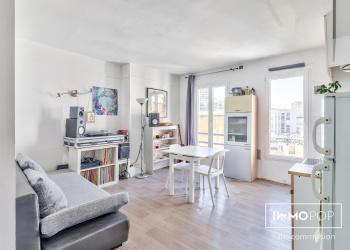 Appartement Type 2 de 33 m² + cave à Paris 13 ème