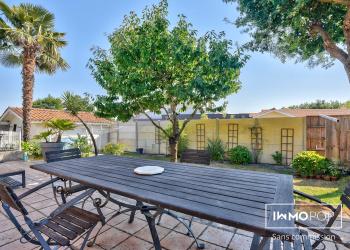 Maison plain pied Type 5 de 110 m² + piscine + garage à Lanton