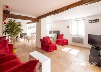 Maison de village Type 7 de 177 m² à St Léon