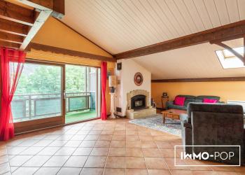 Appartement duplex, Type 5 de 165 m² + garage double + grande cave à Sallanches