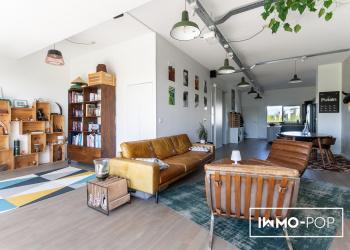 Superbe Appartement Type 3 de 89 m² + terrasse végétalisée de 34 m² + parking à BEGLES