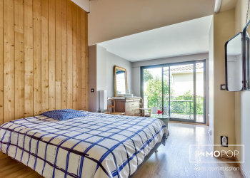 Charmante maison atypique Type 5 de 161 m² avec Jardin à Lormont