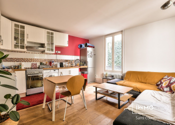 Appartement Type 2 de 44 m² à Paris 18ème