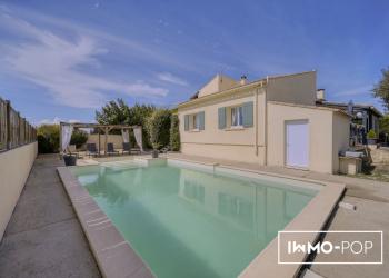 Jolie Maison Type 5 de 147 m² + piscine + garage + dépendance à St Quentin la Poterie