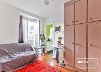 Appartement Type 1 de 16 m² à Paris 12ème