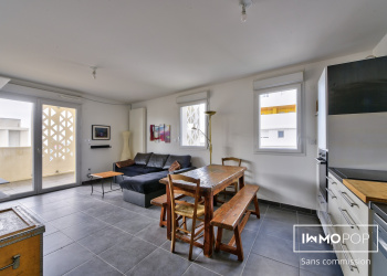 Appartement Type 3 de 59 m² + parking sous-sol à Euromediterranée 2