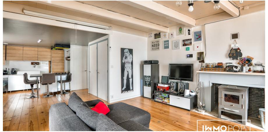 Maison Type 4 de 88 m² au centre de Aytré