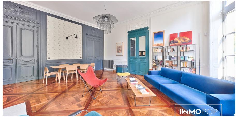 Appartement type 3 de 128 m² (carrez) à Bordeaux