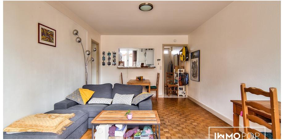 Appartement Type 2 de 47 m² + box à Toulouse