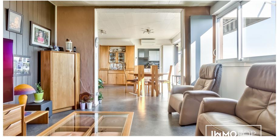 Appartement Type 5 de 94 m² + parking + cave + piscine à Mérignac