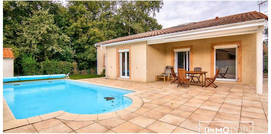 Maison plain pied Type 5 de 115 m² à Léguevin