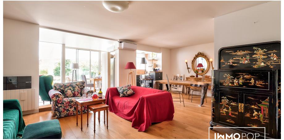 Appartement Type 2 de 66 m² + box + cave à St Maur-des-Fossés
