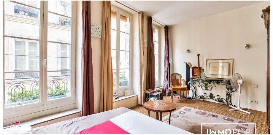 Appartement duplex Type 3 de 83 m² à Paris 3ème