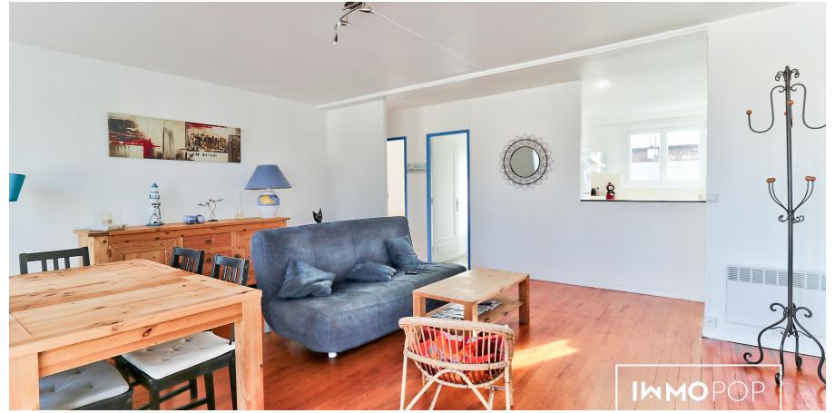 Appartement Type 4 de 90 m² au coeur de Royan