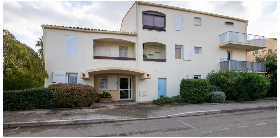 Appartement Type 1 bis de 36 m² + parking à St Cyr-sur-Mer