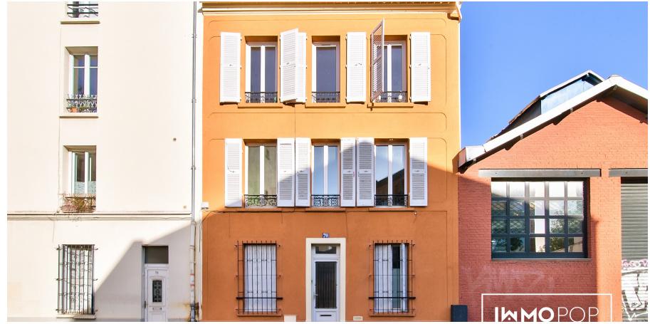 Appartement Type 3 de 50 m² + cave à Montreuil