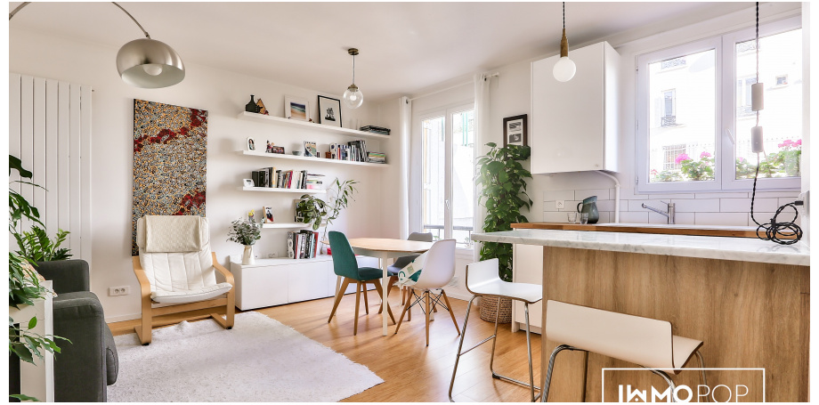 Appartement Type 3 de 50 m² + caves à Paris 11ème