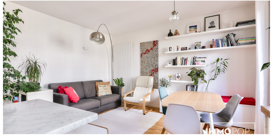 Appartement Type 3 de 49 m² + caves à Paris 11ème