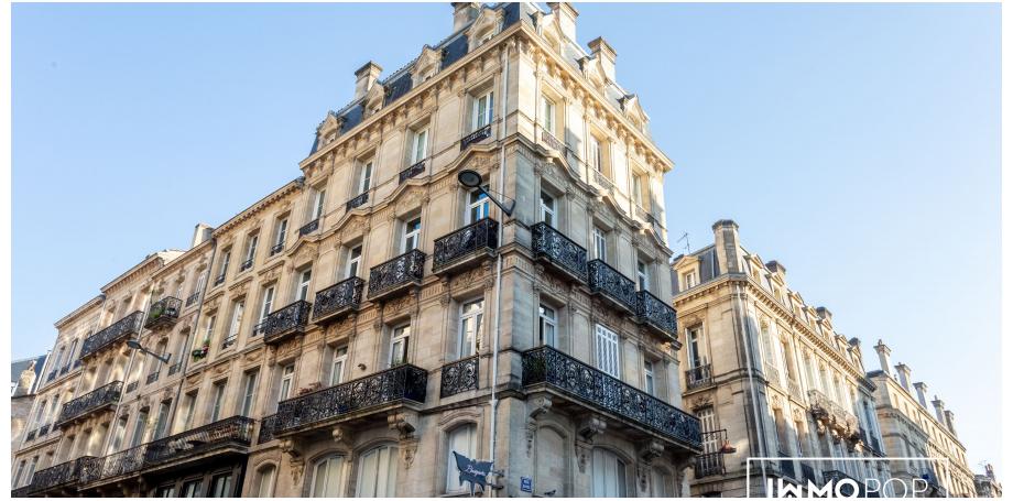 Appartement Type 4 de 81 m² au centre de Bordeaux