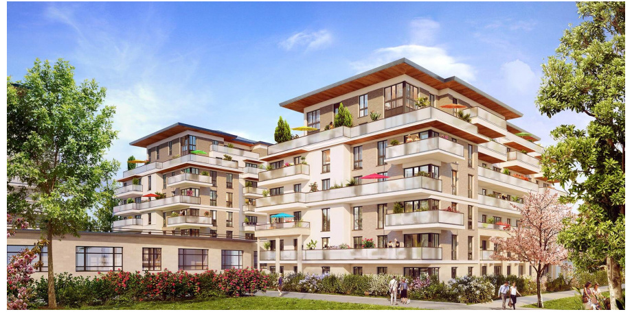 Appartement neuf Type 4 de 81 m² + parking à Vélizy-Villacoublay