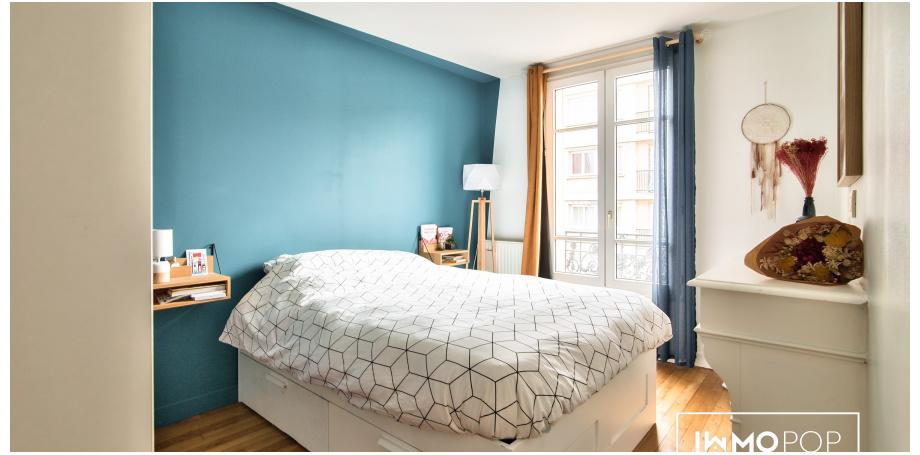 Appartement duplex Type 3 de 69 m² (65 carrez) + cave à Montreuil